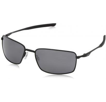 2a34ecb982 Oakley Square Wire Polished Black Black Iridium Lens